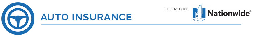 Auto insurance icon and logo