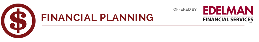 financial planning icon and logo